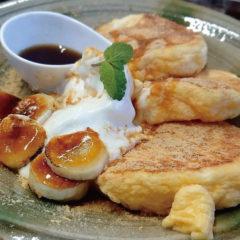 パンケーキ ¥1100